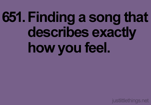 Then dancing your heart out to it.