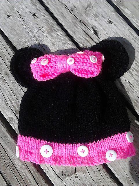 Ravelry Momnivores Minnie Mouse Knit Minnie Mouse Knitting