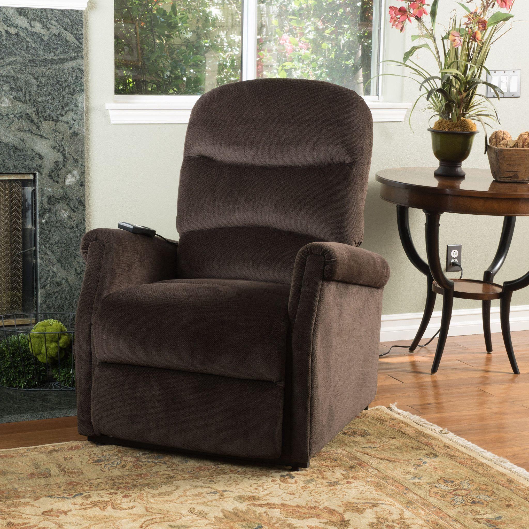 Alan Fabric Lift Up Recliner Chair
