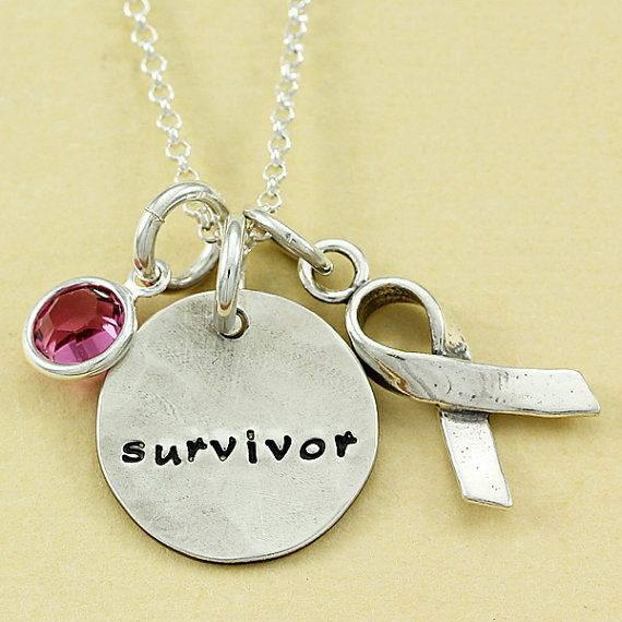 Survivor Necklace Hand Stamped Sterling By Christinaguenther 78 00 Survivor Necklace Personalized Necklace Handmade Jewelry