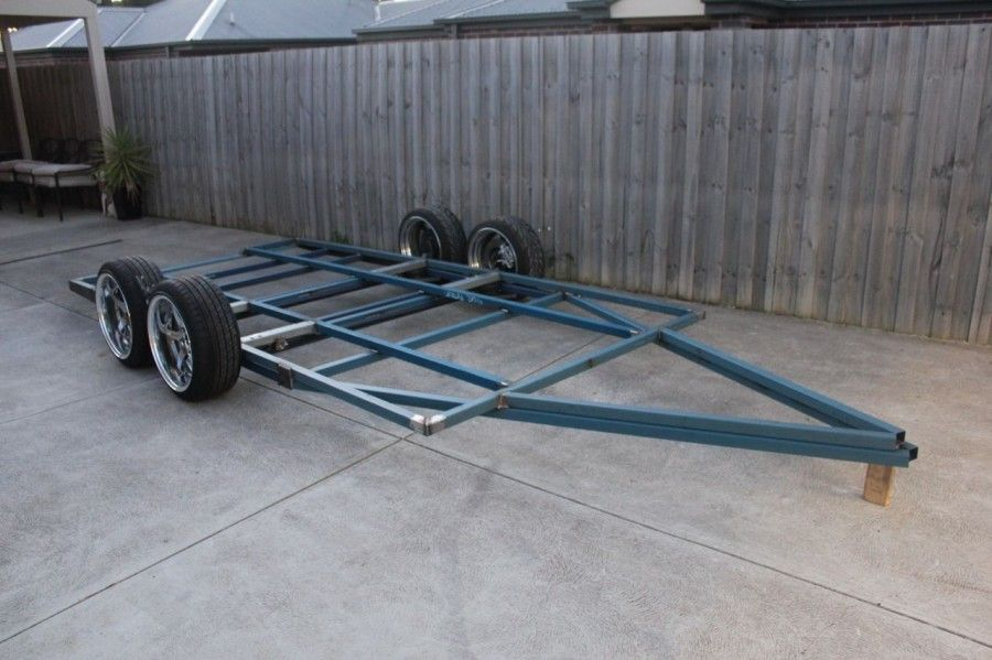 Ets Trailer Build Rolling Low Engineered To Slide Trailer Build Trailer Car Trailer