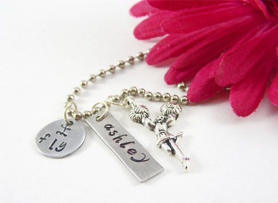Hey, I found this really awesome Etsy listing at https://www.etsy.com/listing/197800229/cheerleader-necklace-personalized