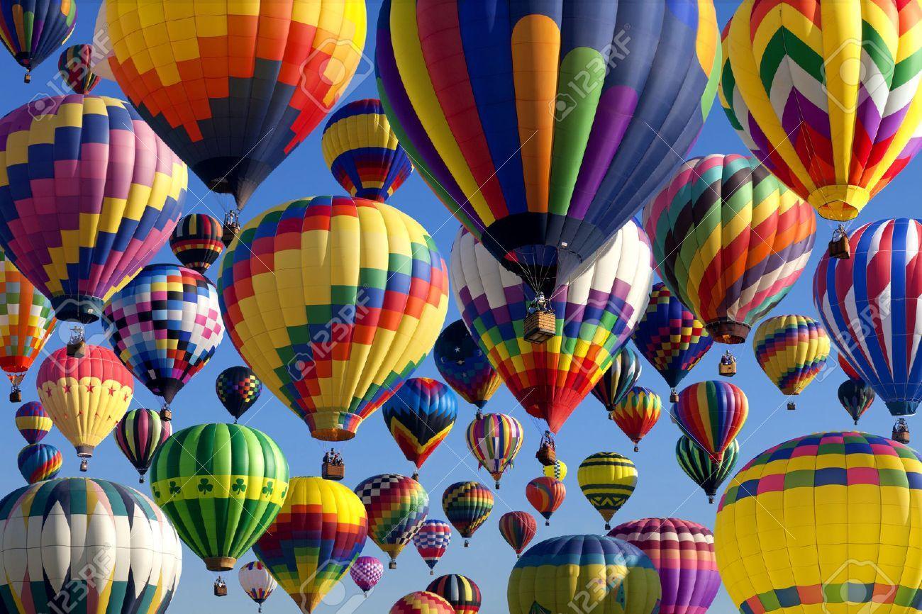 Stock Photo Air balloon festival, Hot air balloon