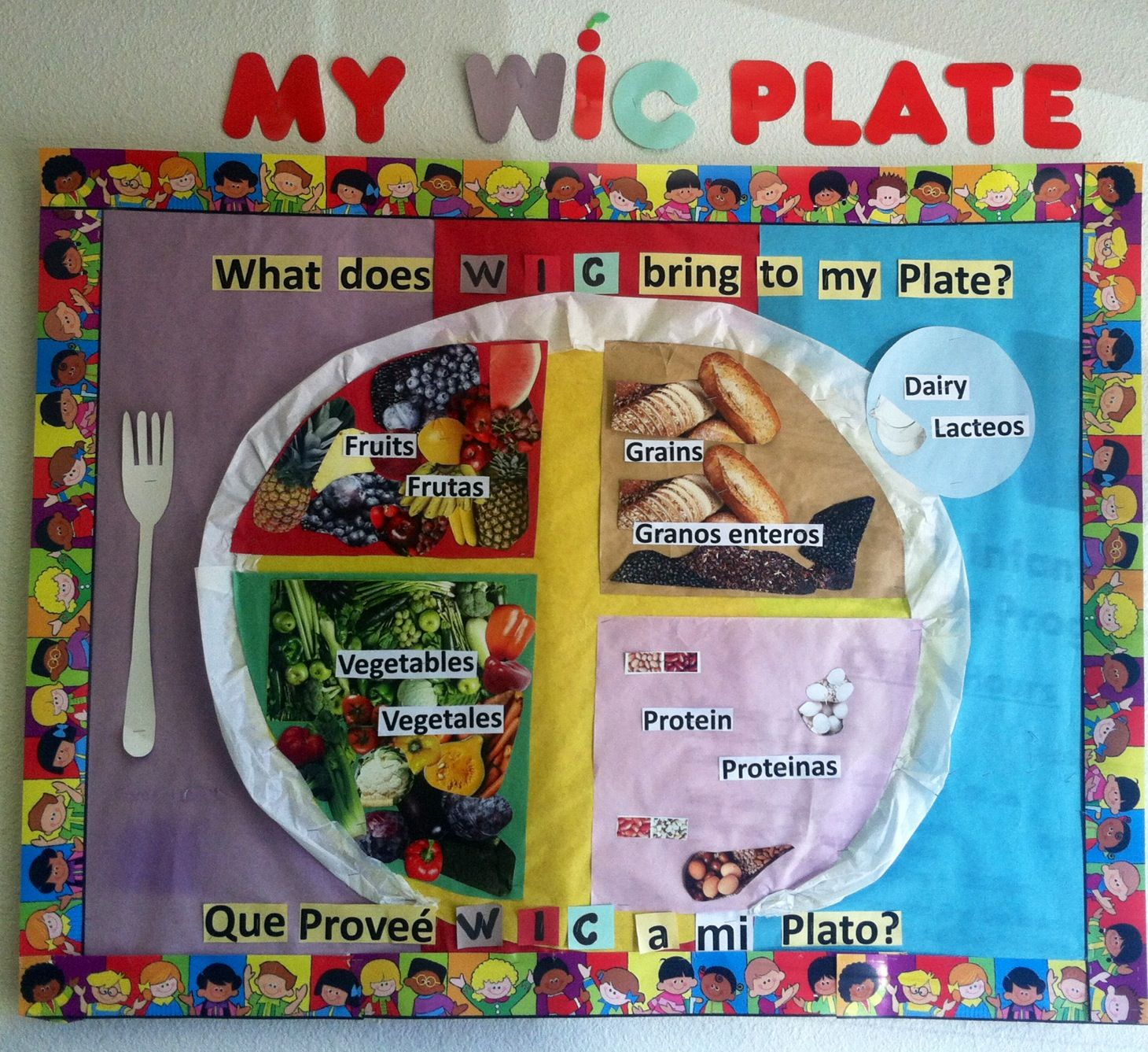 My Plate Bulletin Board at our WIC Office   Classroom ...