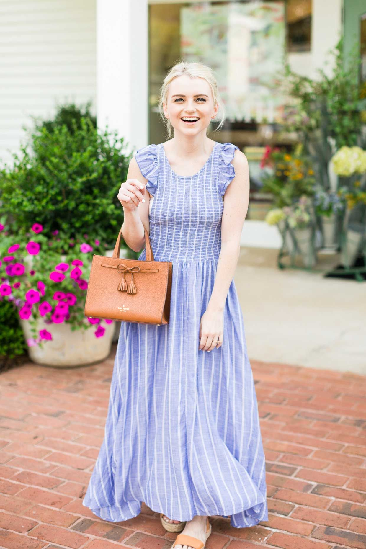 thoughts on clearance sale newest collection Free People Butterflies Chambray Midi Dress | Dresses, Fashion ...