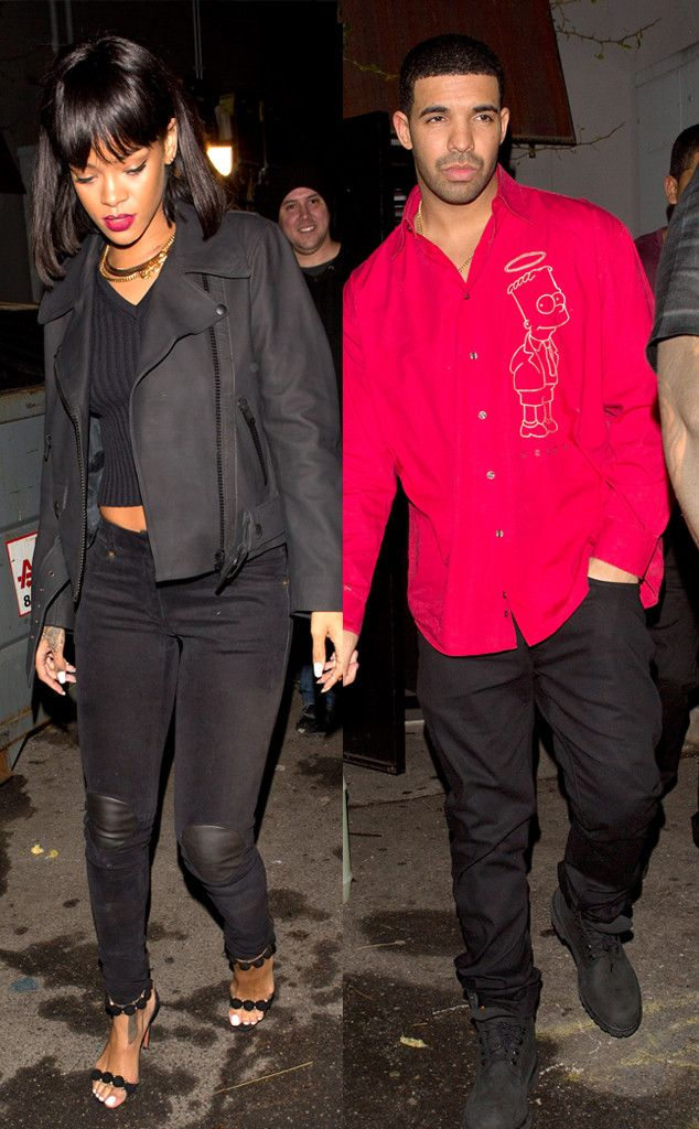 Drake & Rihanna Spotted Hanging Out Again Rihanna and