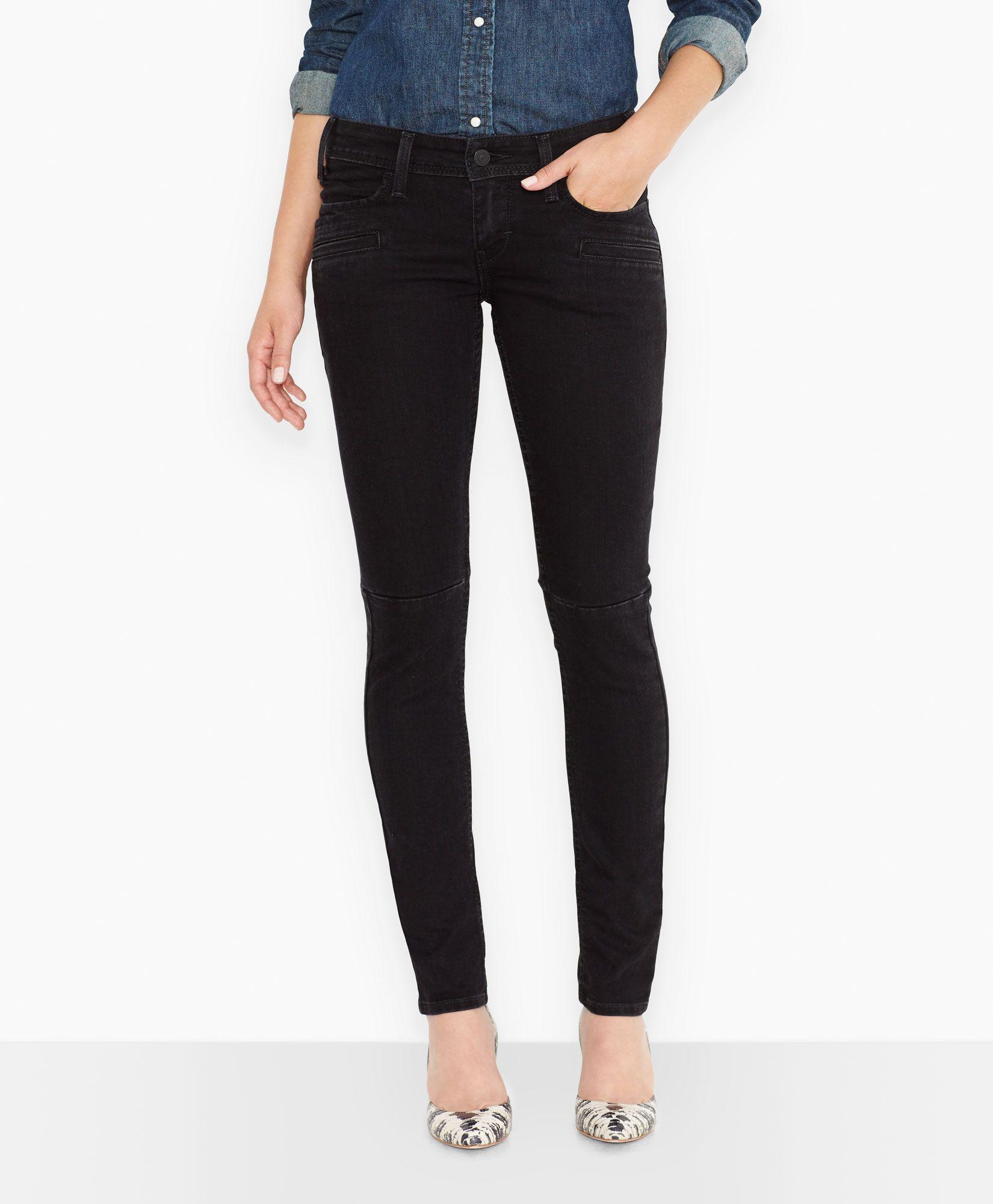 Levi's 524™ Moto Skinny Jeans - Kara Black - Skinny
