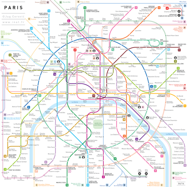 Simplified Subway Maps