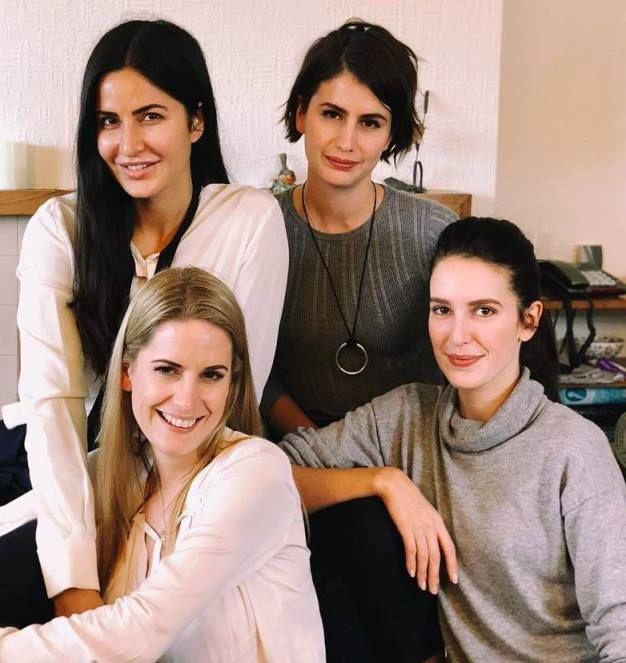 Katrina Kaif Siblings, sisters Stephanie, Christine and ...