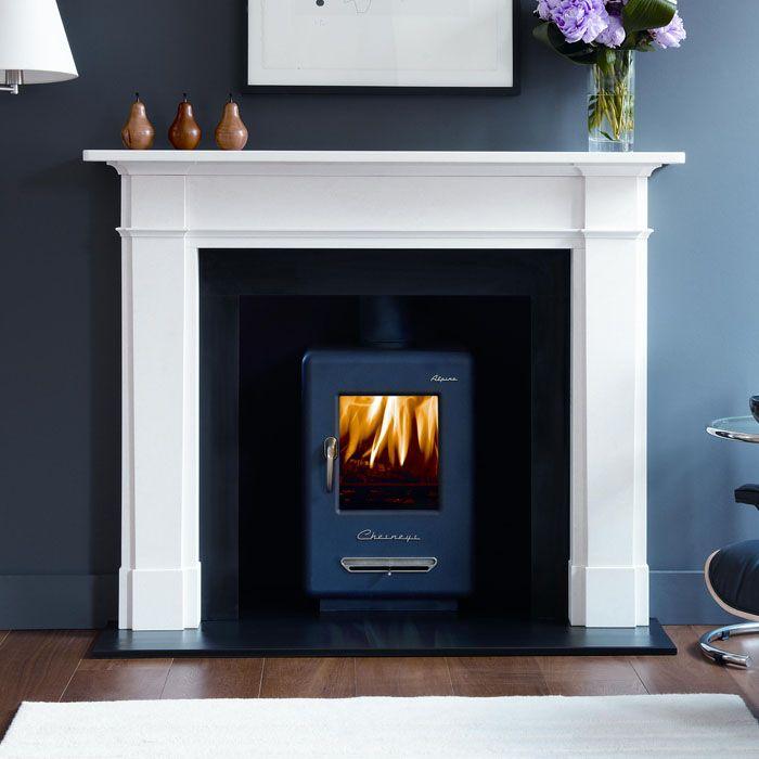 Chesneys Alpine 4 smoke control stove   Fireplaces   Pinterest ...
