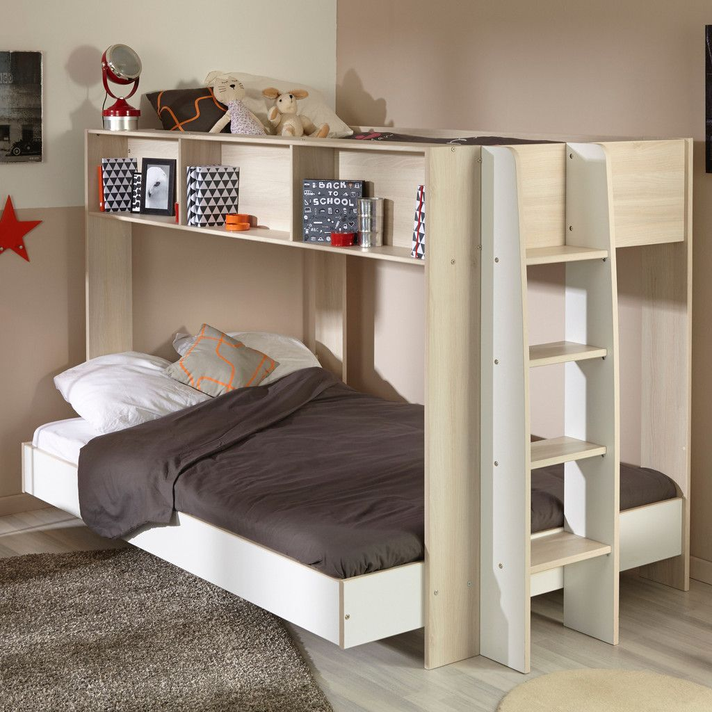 Best Parisot Team Triple Sleeper Bunk Bed Double Bunk Beds 640 x 480