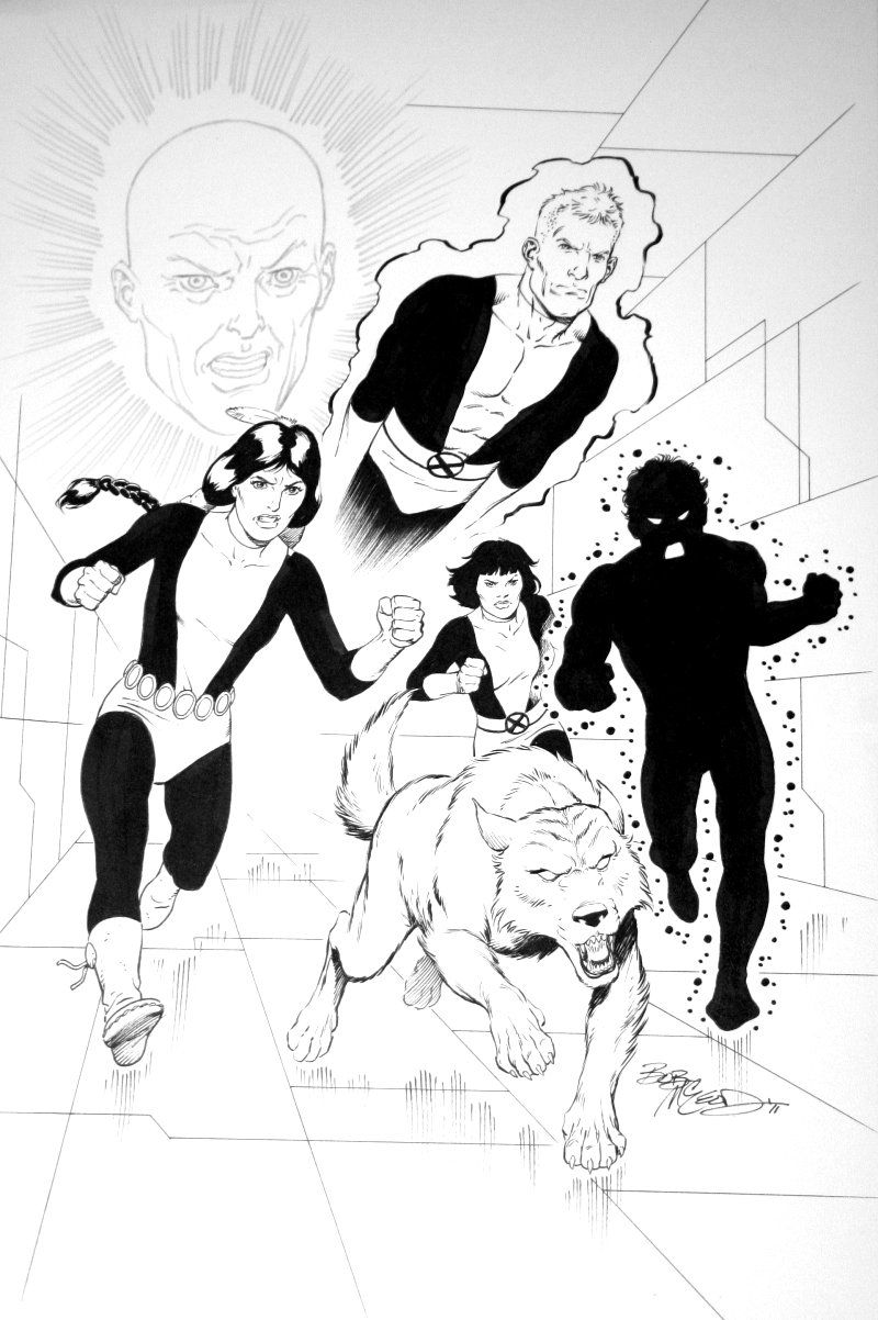 New Mutants by Bob McLeod