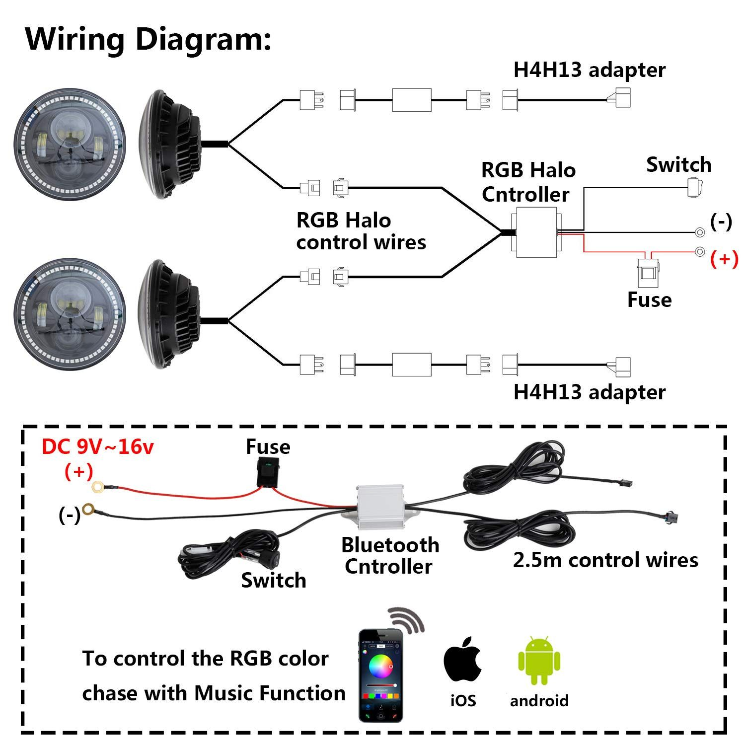 Halo Led Wiring Diagram