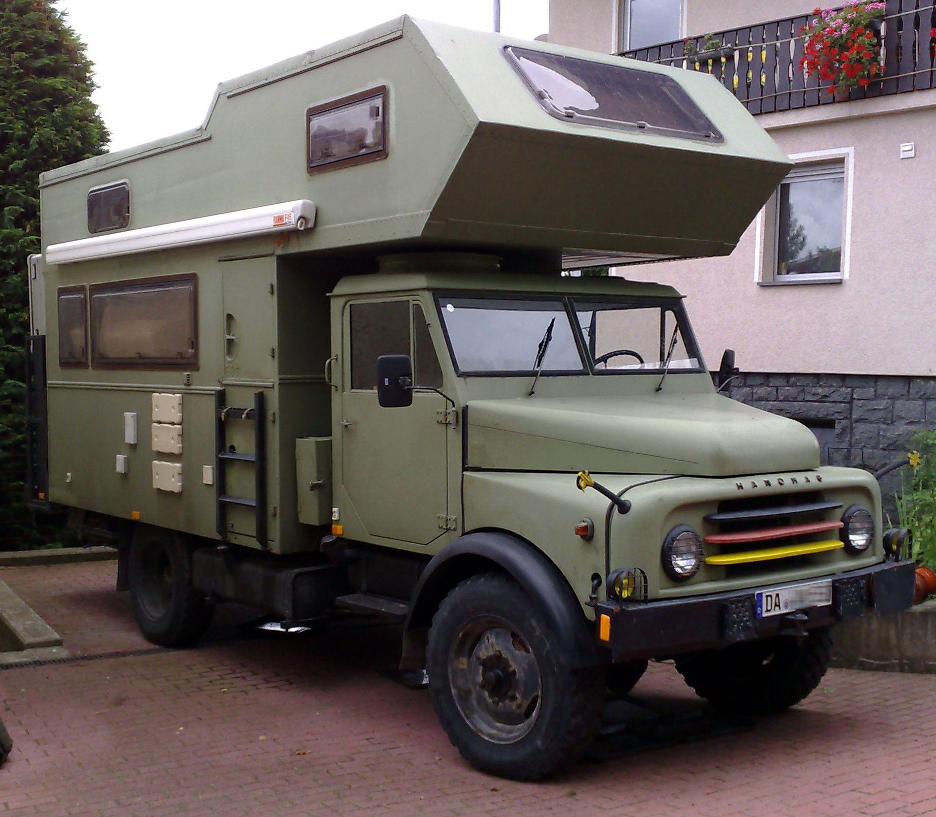 Hanomag AL10 Expedition Camper 10x10 de 10  Truck camper