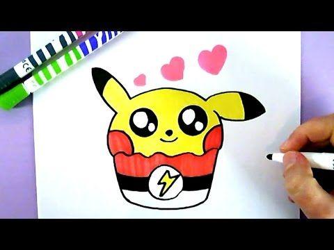 Comment Dessiner Bebe Pikachu Kawaii Dessin Facile Youtube Unicorn Pig Pikachu Character