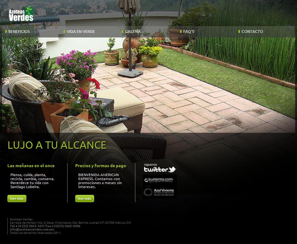 Azoteas Verdes Azoteas Verdes Terraza Jardin Y Jardines