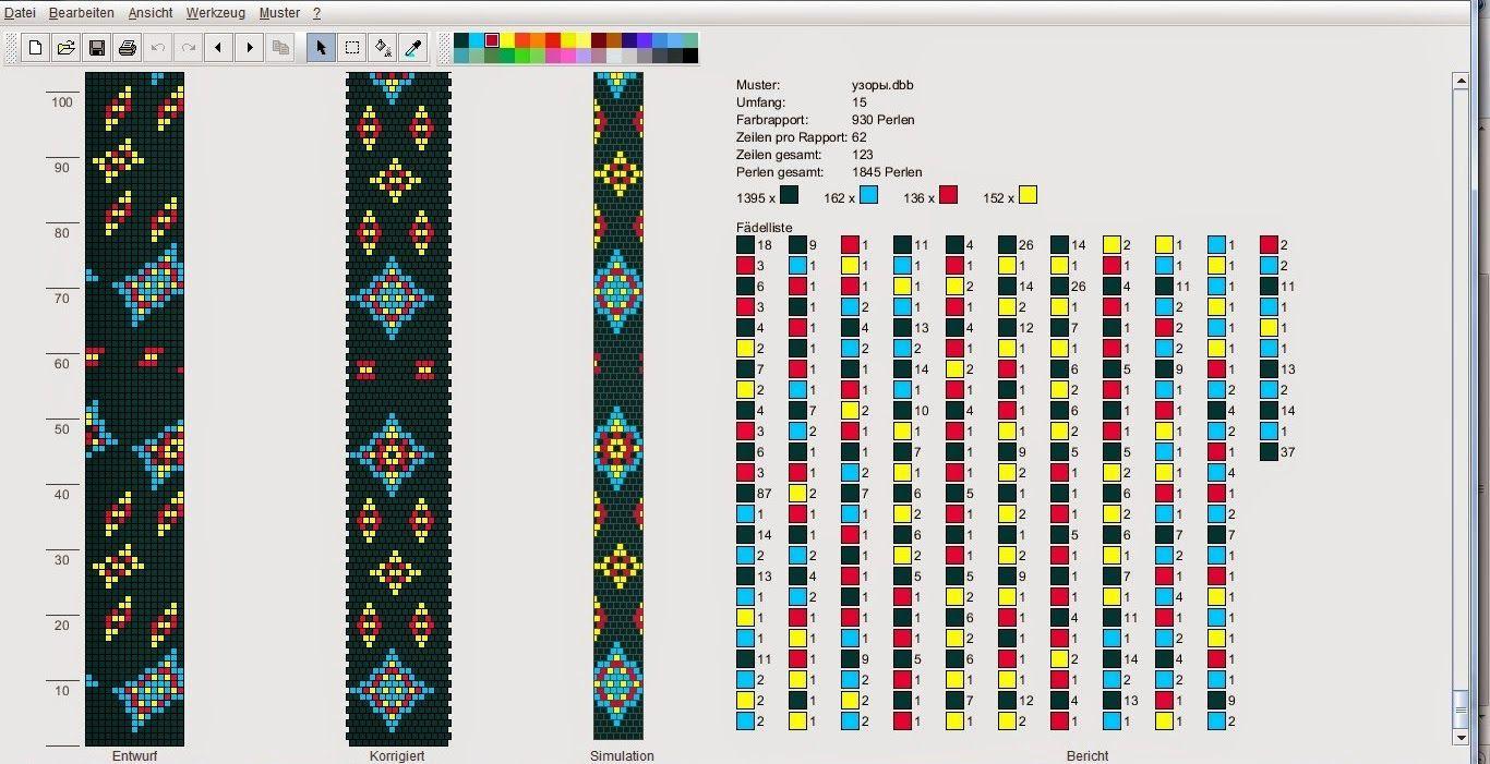 Жгуты из бисера, схемы плетения для начинающих, фото Схема для вязания бисерных жгутов