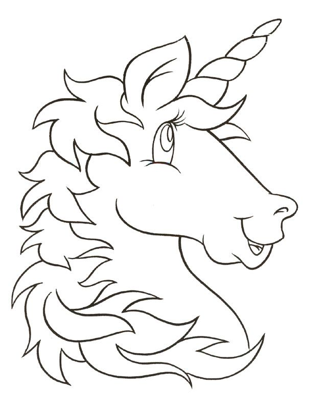 Unicorn Stencil Unicorn Coloring Pages Kids Printable Coloring Pages Coloring Pages
