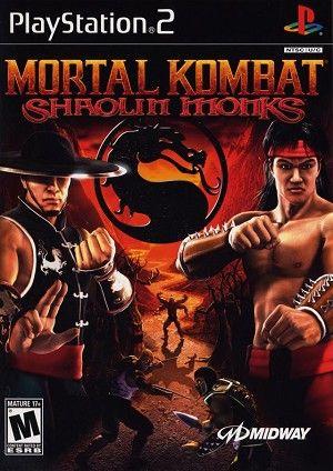 Mortal Kombat Shaolin Monks Sony Playstation 2 Game Mortal Kombat Shaolin Monks Shaolin Monks Mortal Kombat Games
