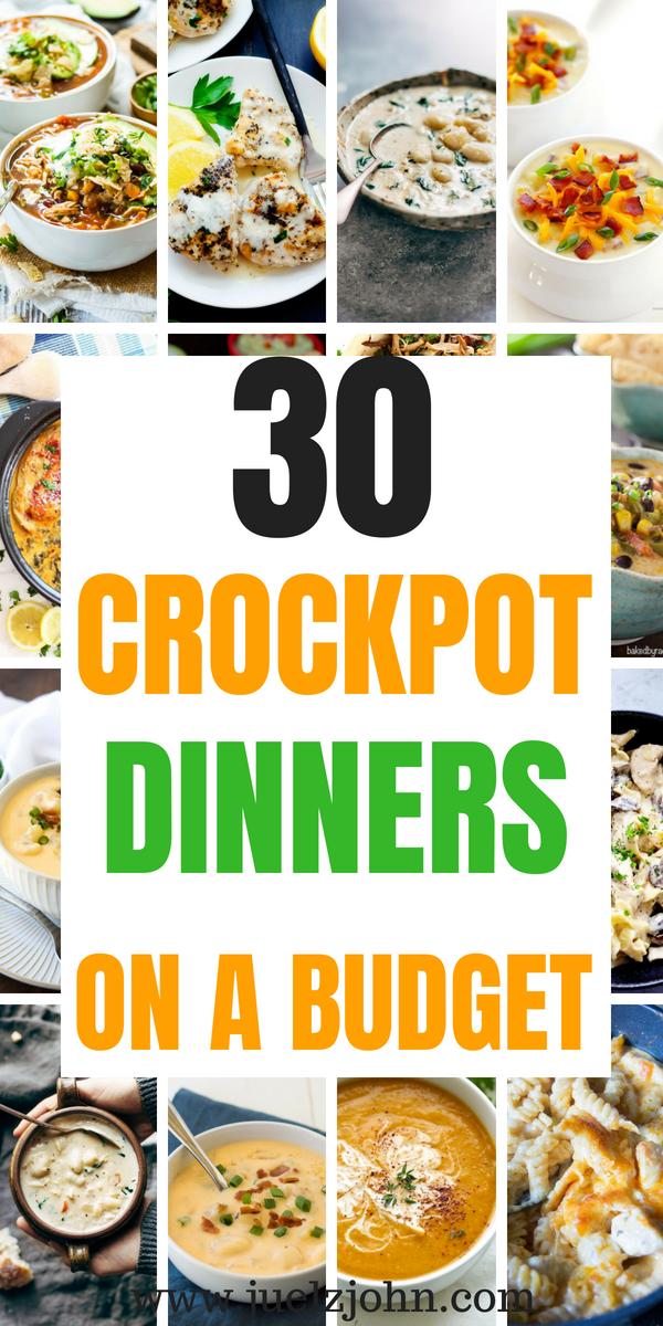 30 Quick Easy Crock Pot Meals You Can T Resist Easy Recipes