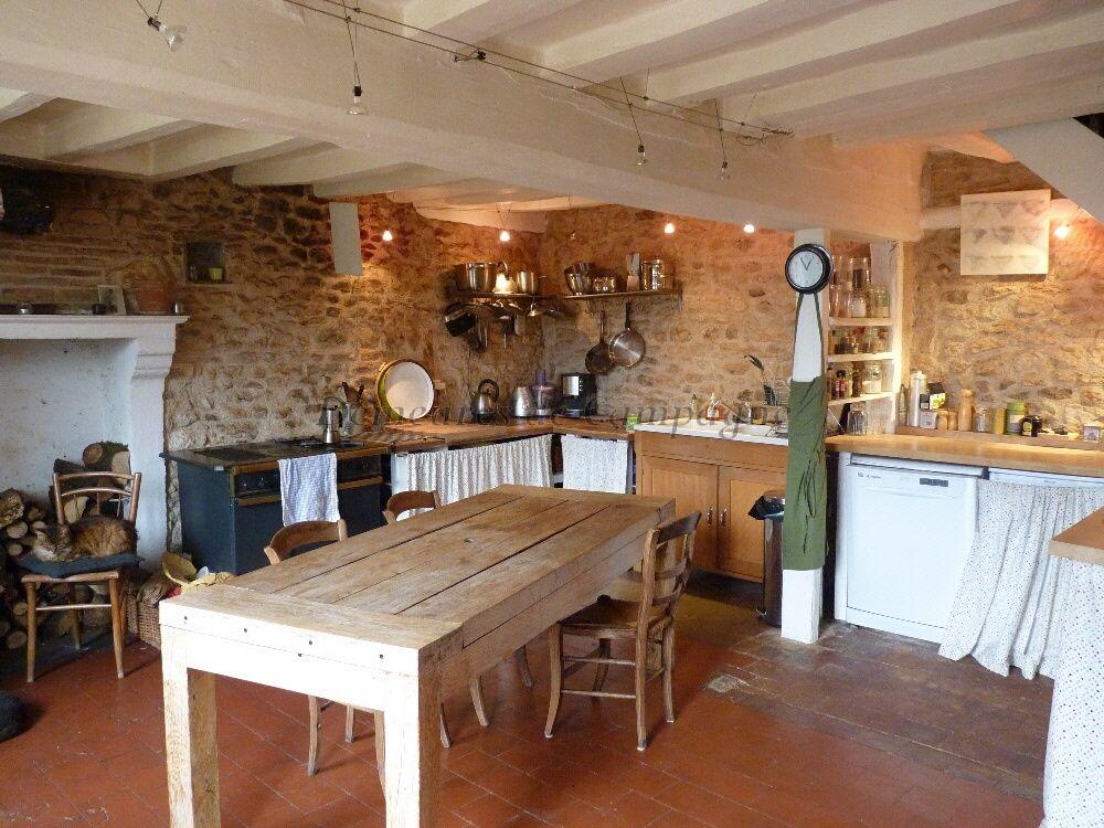 Long re longere bretagne pinterest long re maisons - Cuisine maison de campagne ...