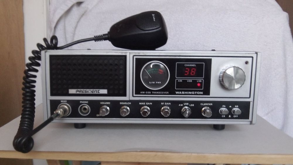 Details about President McKinley USA 40 Channel CB Radio AM
