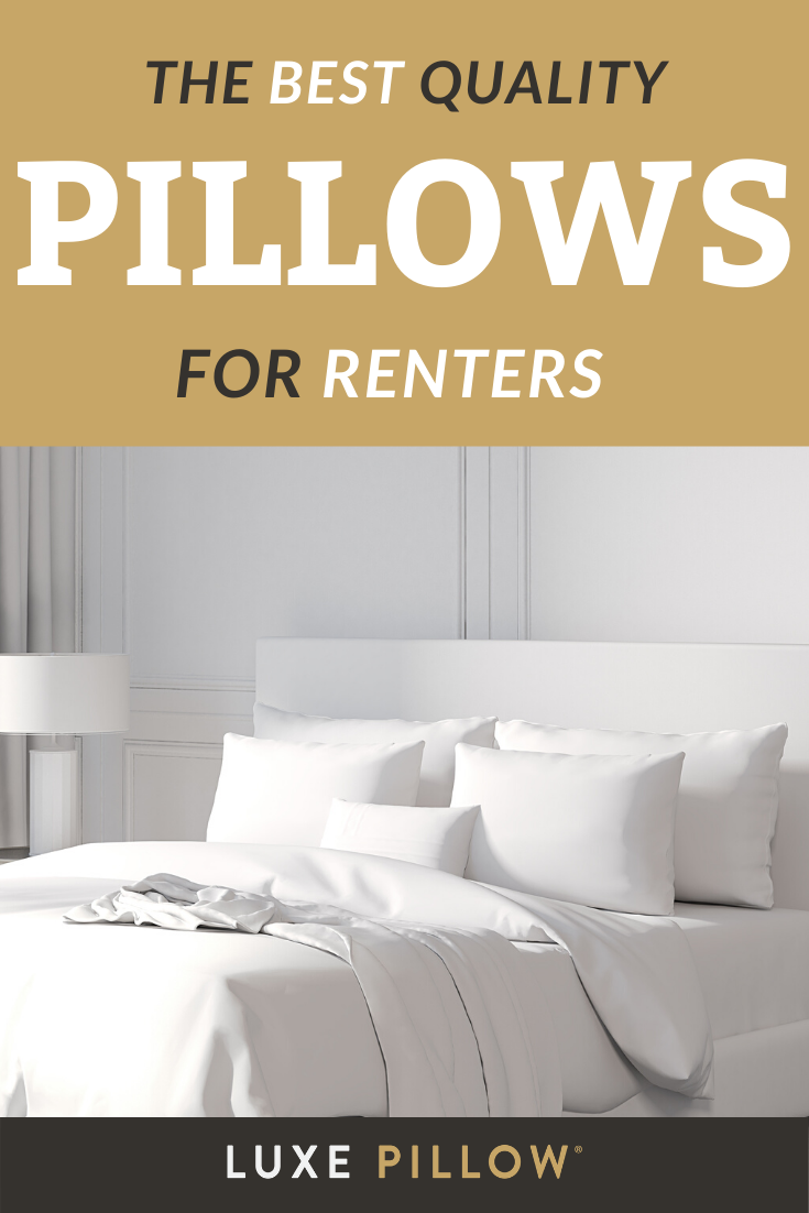 If you're renting, you NEED these pillows to improve your experience #SleepTips #BedroomInspiration #RentTips #SleepAdvice #BestPillowsForYourRoom #ApartmentInspiration