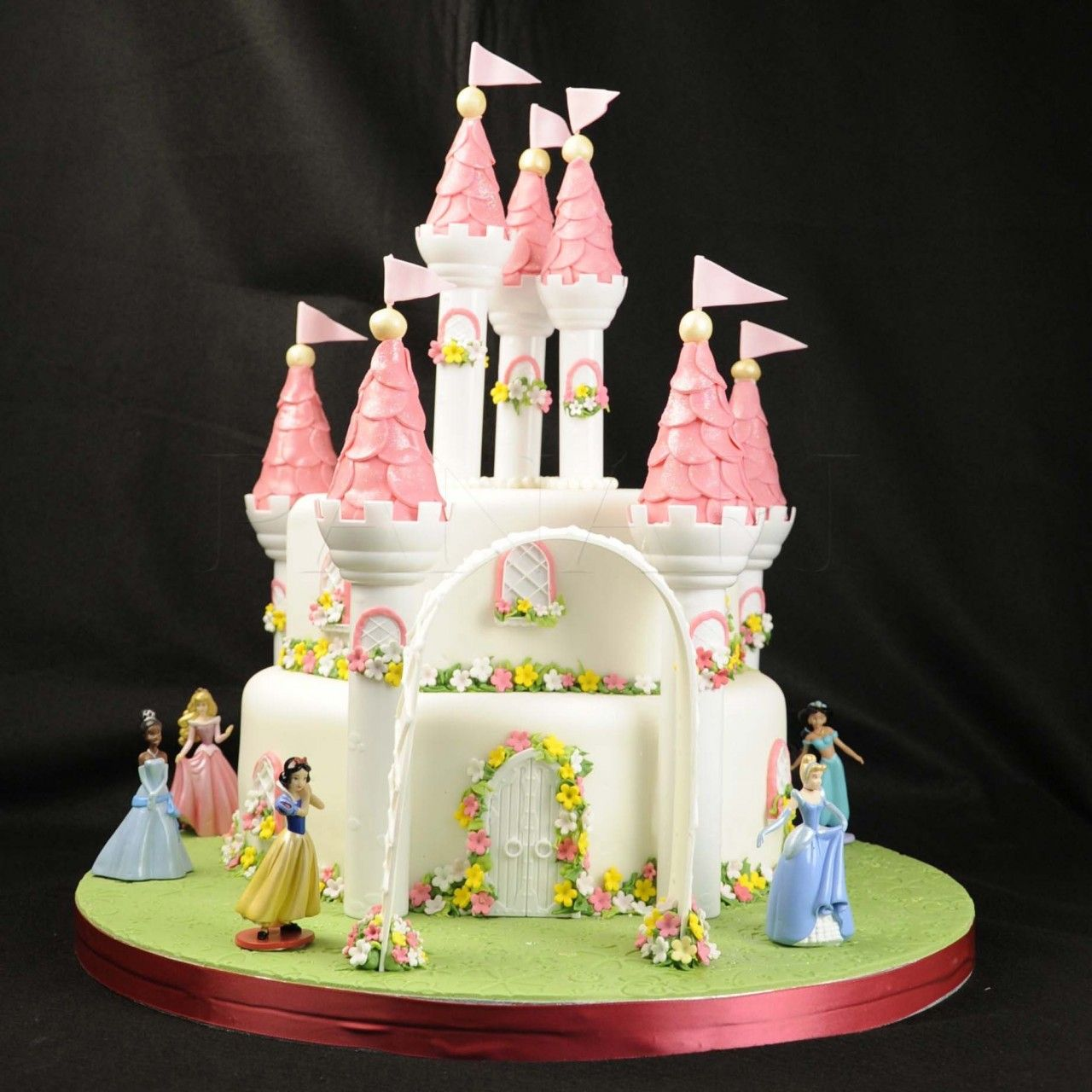 disney princess castle wedding cake image detail for home wedding cake toppers castles 13566