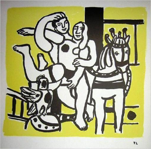 Quadrichromie de Fernand Léger,Le Cirque