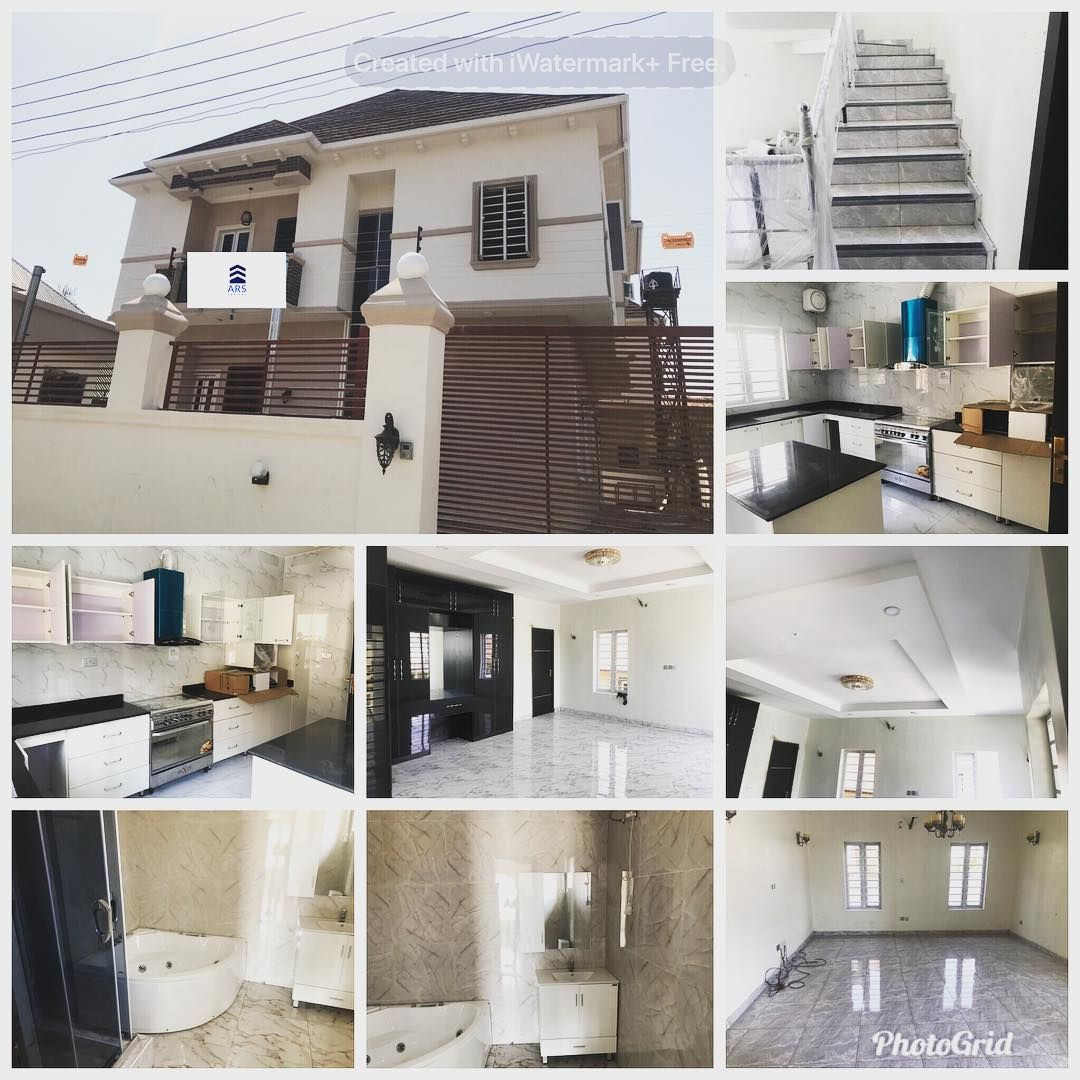 5 bedroom house interior for sale  neat  spacious  bedroom detached house with a room bq