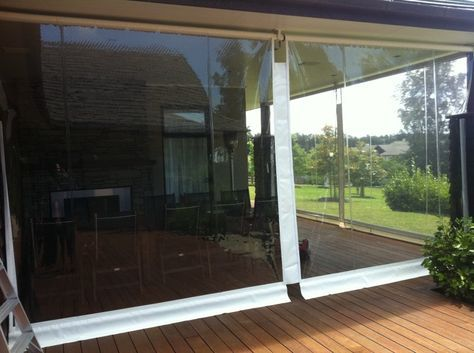 Bon PVC Patio Screens Our Outdoor Screens Are The Perfect Way To Protect Your  Patio Or Deck Area From The Wind And Rain. Popular Particularly At Cafes