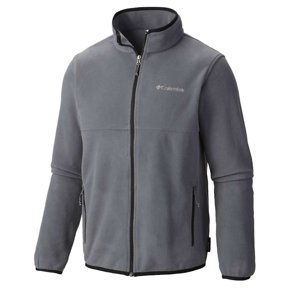 Columbia menus fuller ridge fleece jacket medium graphite