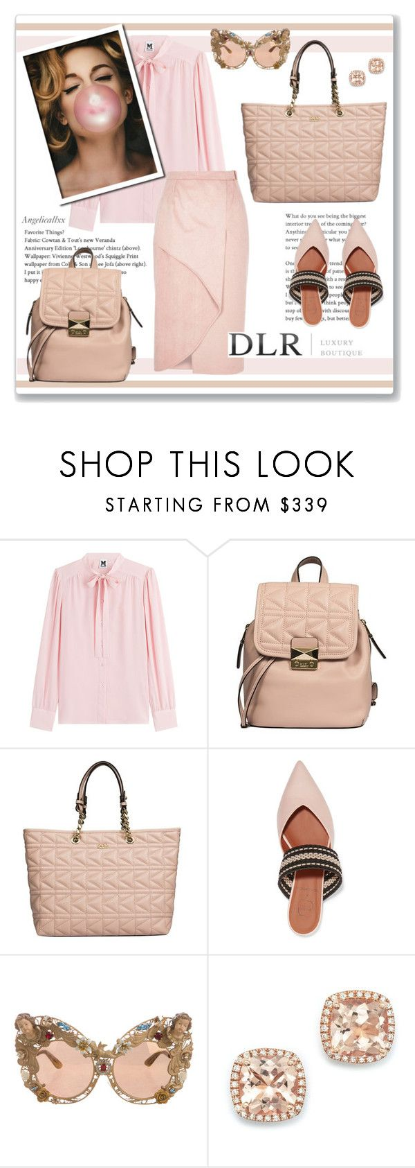 """DLRBOUTIQUE.COM"" by angelicallxx ❤ liked on Polyvore featuring M Missoni, Karl Lagerfeld, Malone Souliers, Dolce&Gabbana, River Island and Bloomingdale's"