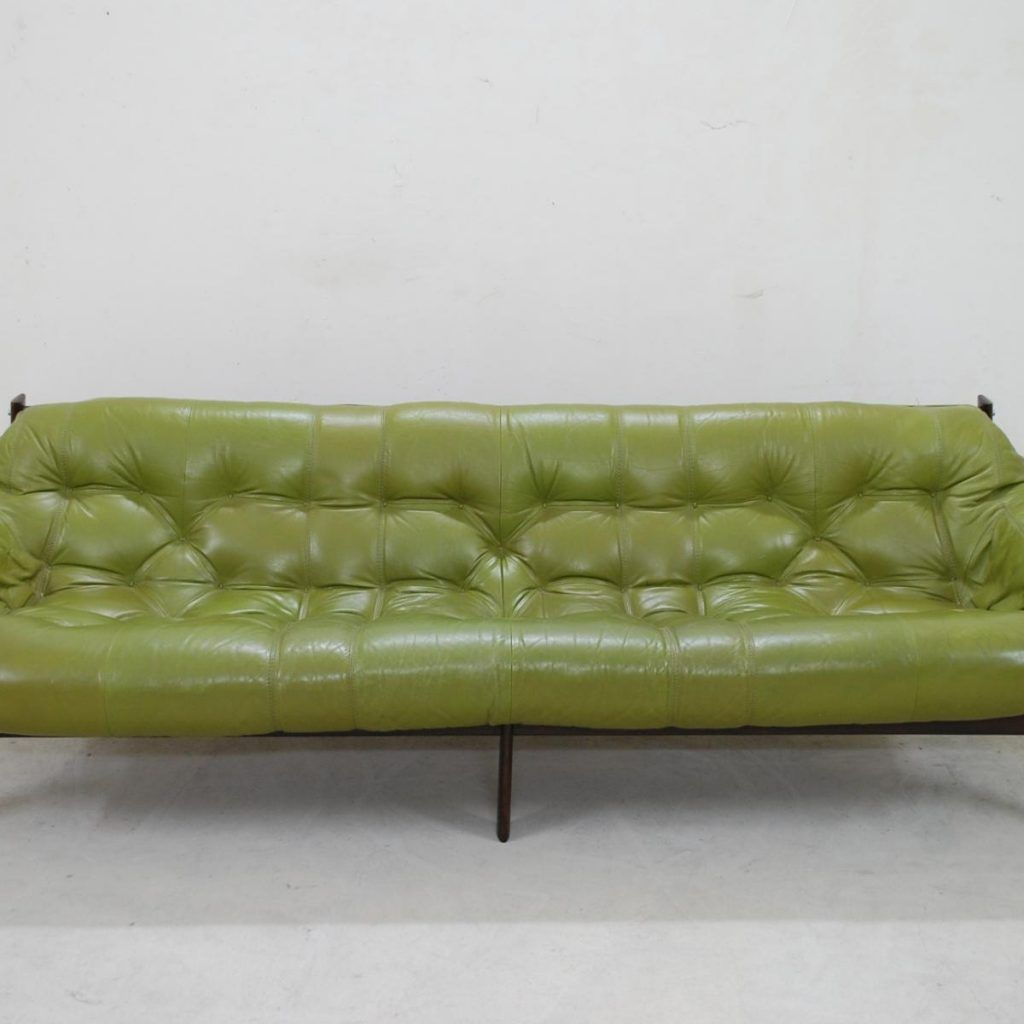 Lime Green Leather Sofa Bed