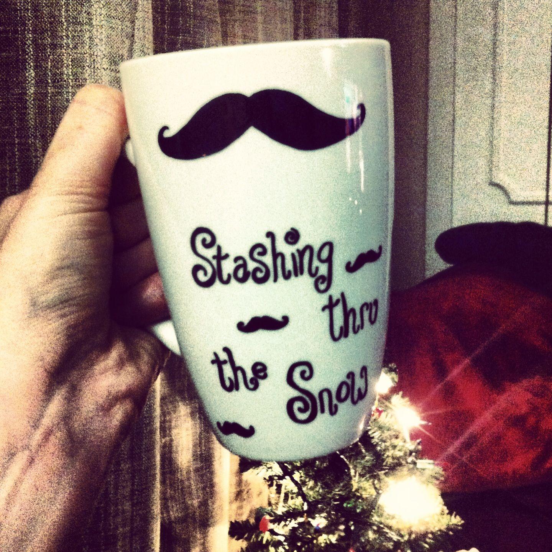 stashing thru the snow sharpies mug bake at 475 half hr