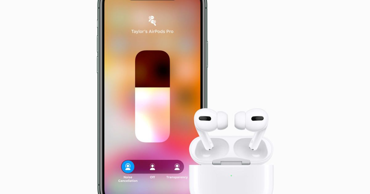 Apple S 249 Airpods Pro Pack Noise Cancellation And Hands Free Siri Airpods Pro Noise Cancelling Noise Cancelling Earbuds