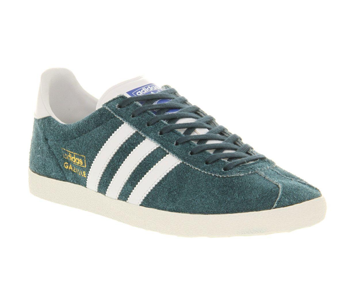 Adidas gazelle petrol blue