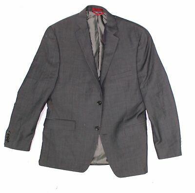 (eBay Sponsored) Alfani Men's Brown Size 42 Short Two Button Wool Blazer Jacket $395 #035