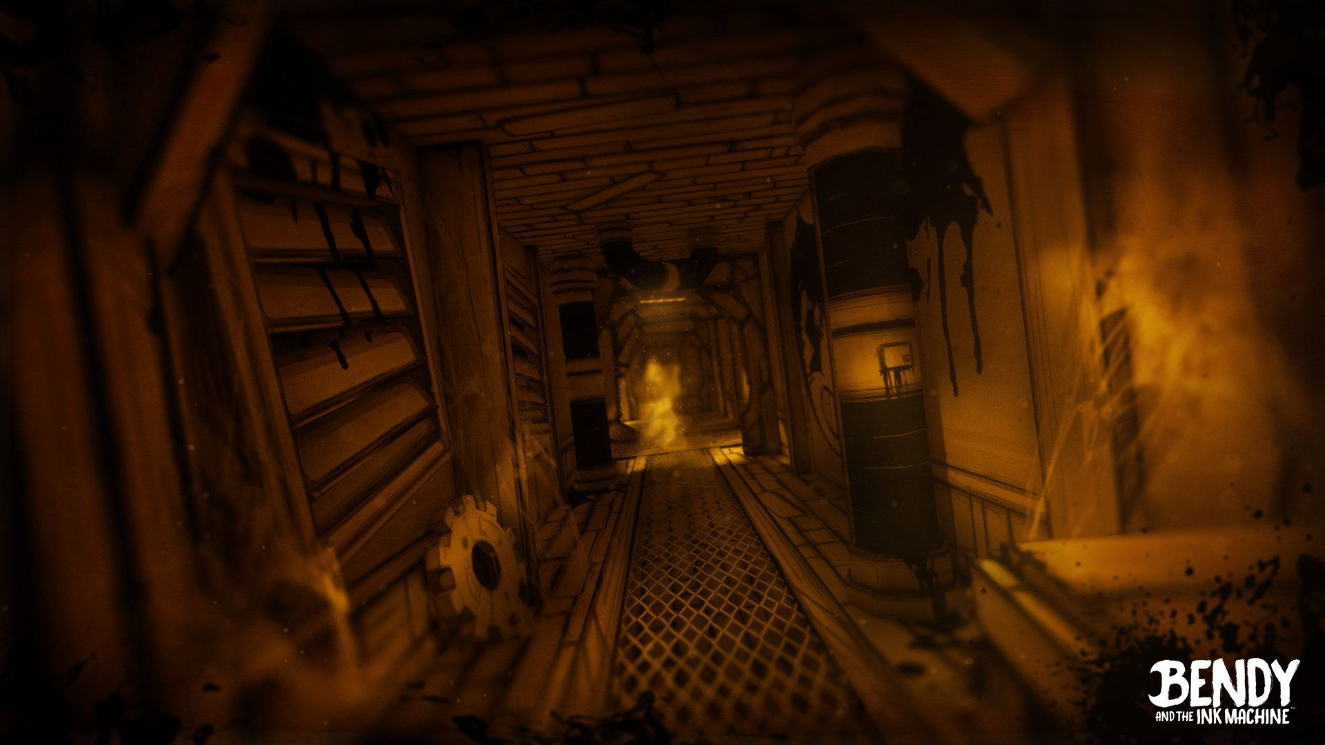 Screenshot Du Chapitre 3 Bendy And The Ink Machine Ink Backrounds