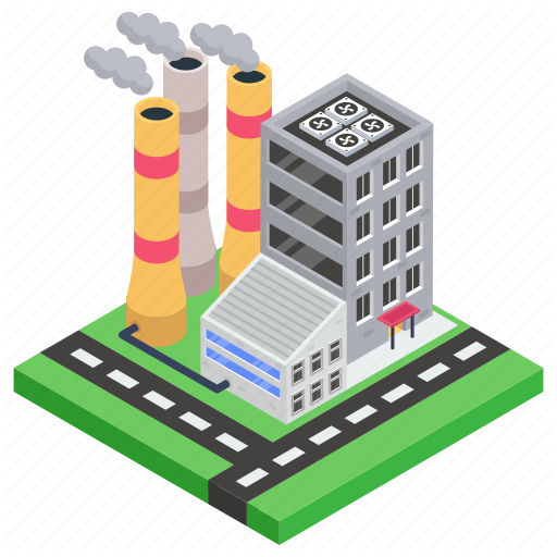 Factory Outlet Industry Manufacturer Mill Power Plant Icon Download On Iconfinder Plant Icon Power Plant Icon