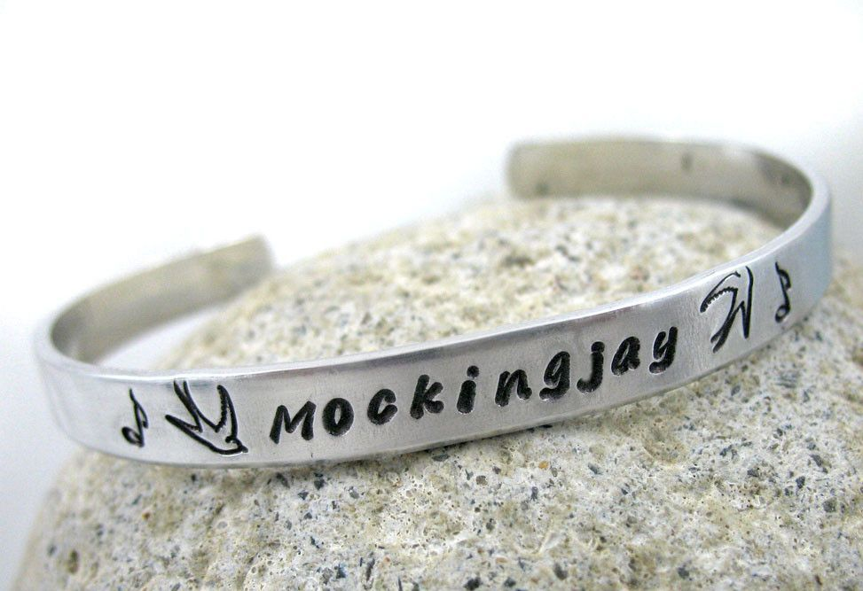 Mockingjay - Aluminum Bracelet