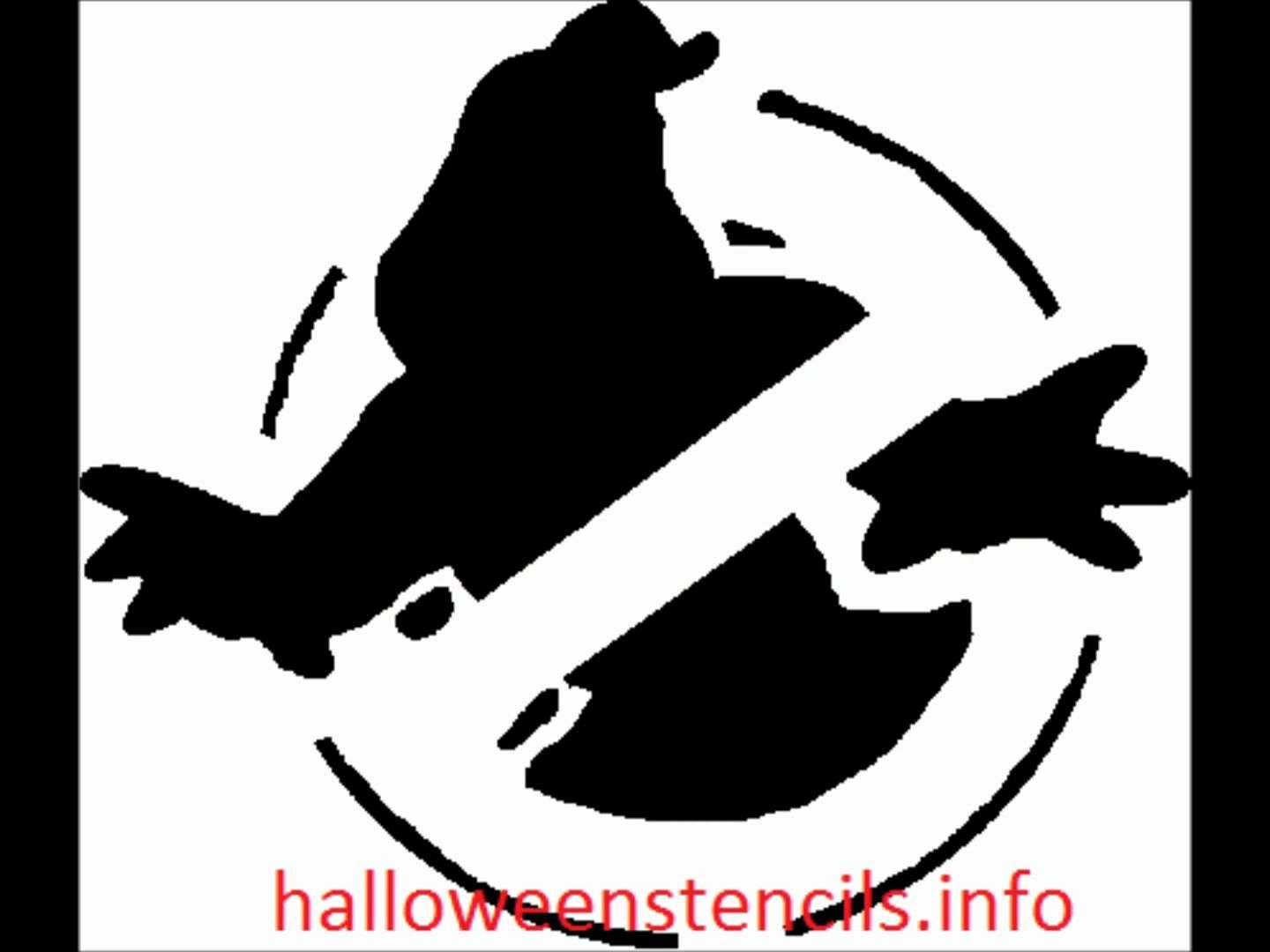 Halloween pumpkin carving stencil template download