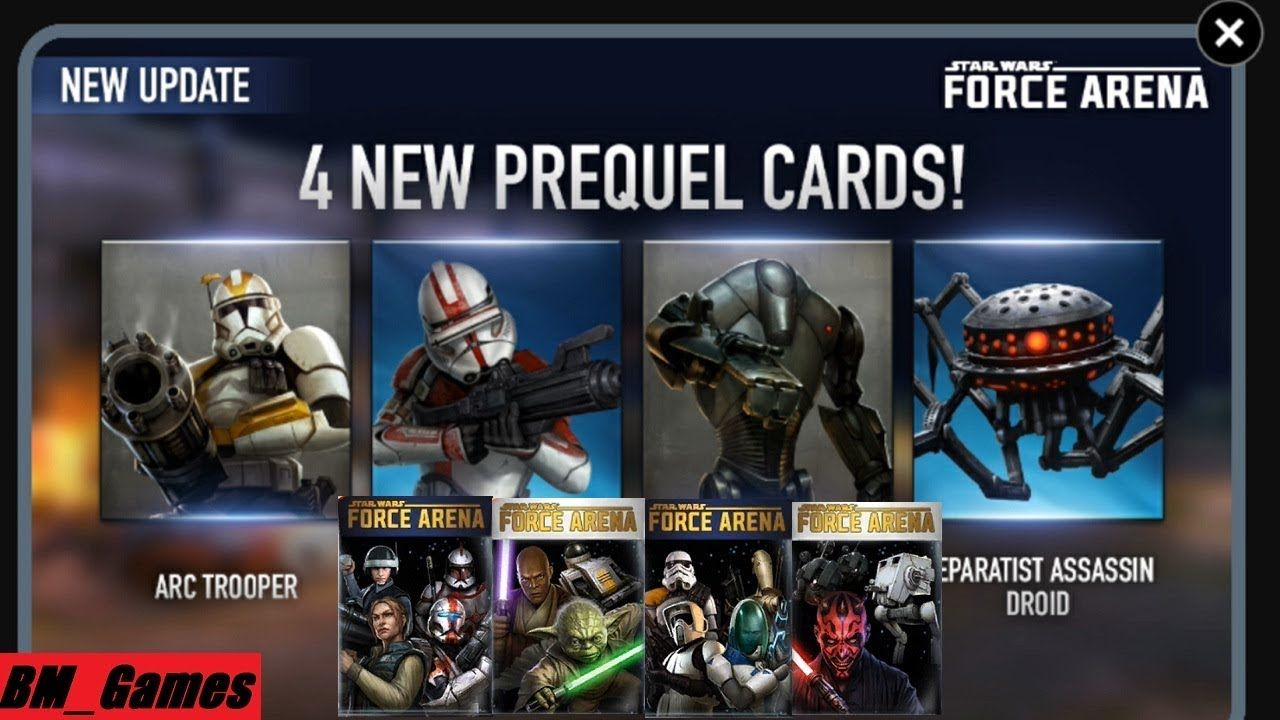 Star Wars Force Arena Hack Cheats for android & ios