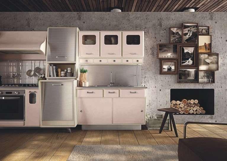 Cucine vintage Anni \'50 - Cucina con maniglie vintage | Cucina, 50th ...