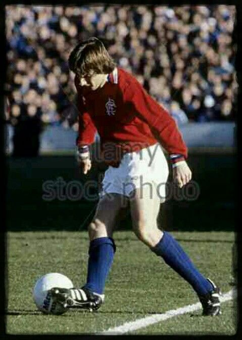Bobby Russell of Rangers in 1981.