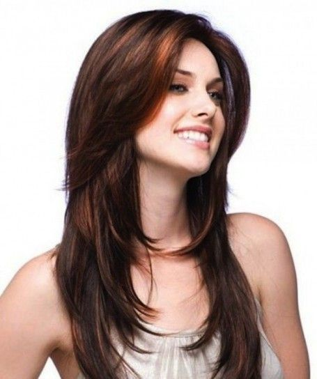 Hairstyles For Long Hair 2015 Adorable Cortes De Pelo A Capas Invierno 2015 Fotos De Los Cortes