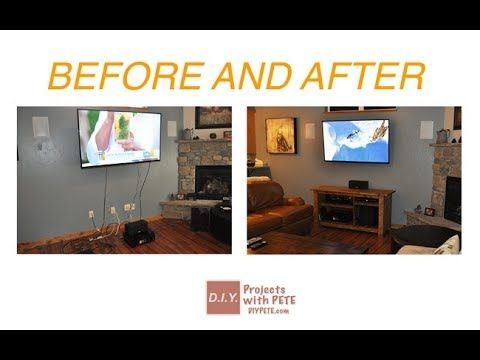 Hide Home Ugly Stuff   How To Hide TV Cords Wires Without CUtting Wall Cable  Box