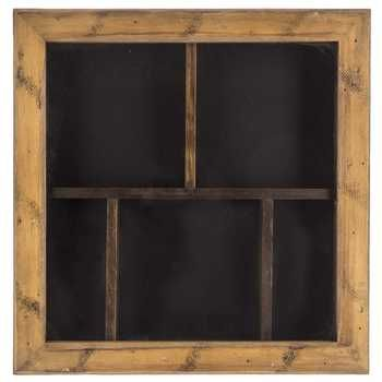 14 X 14 Walnut Shadow Box With Dividers Shadow Box Shadow Boxes Shadow