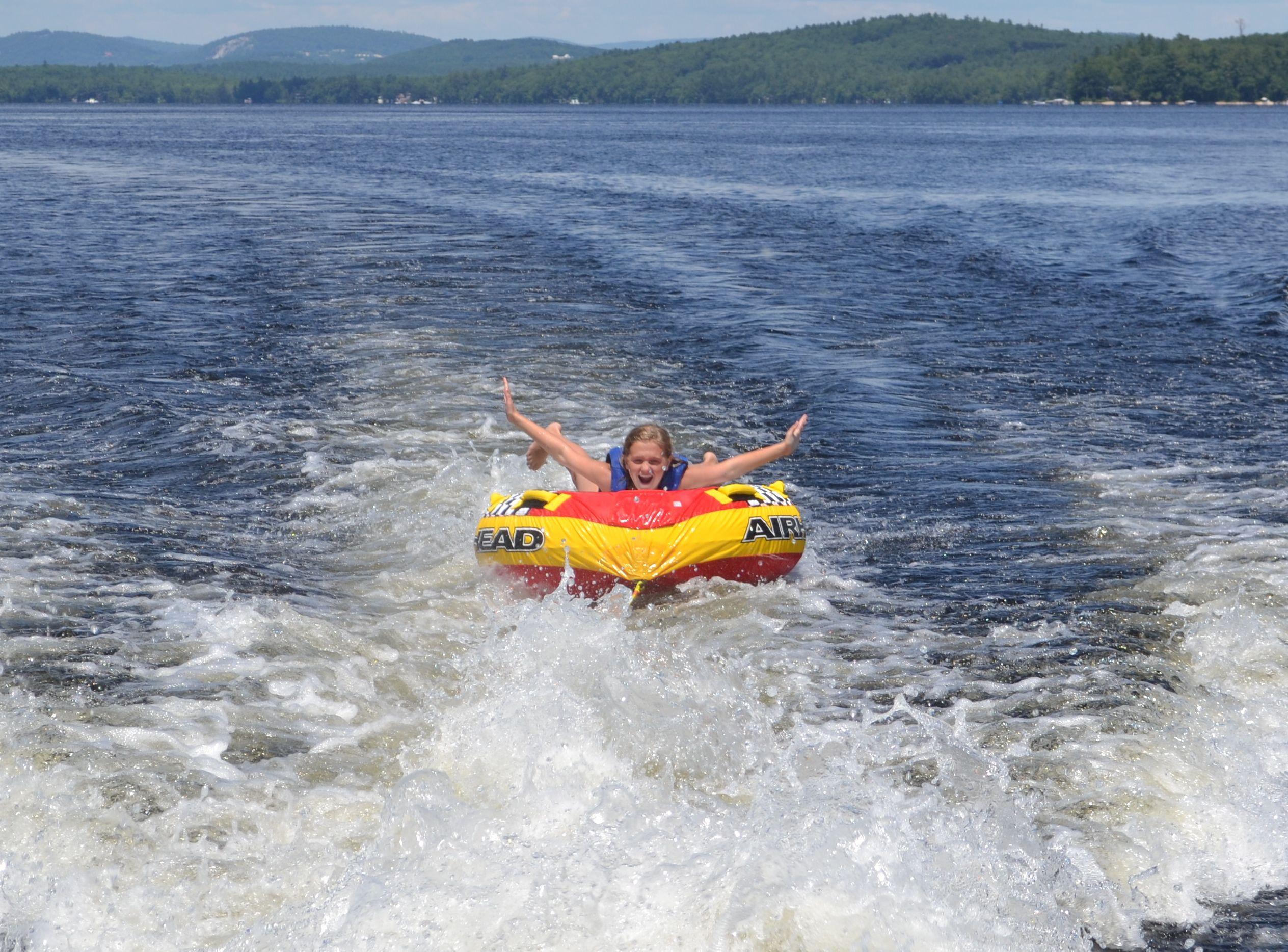 Tubing water fun summer lake life