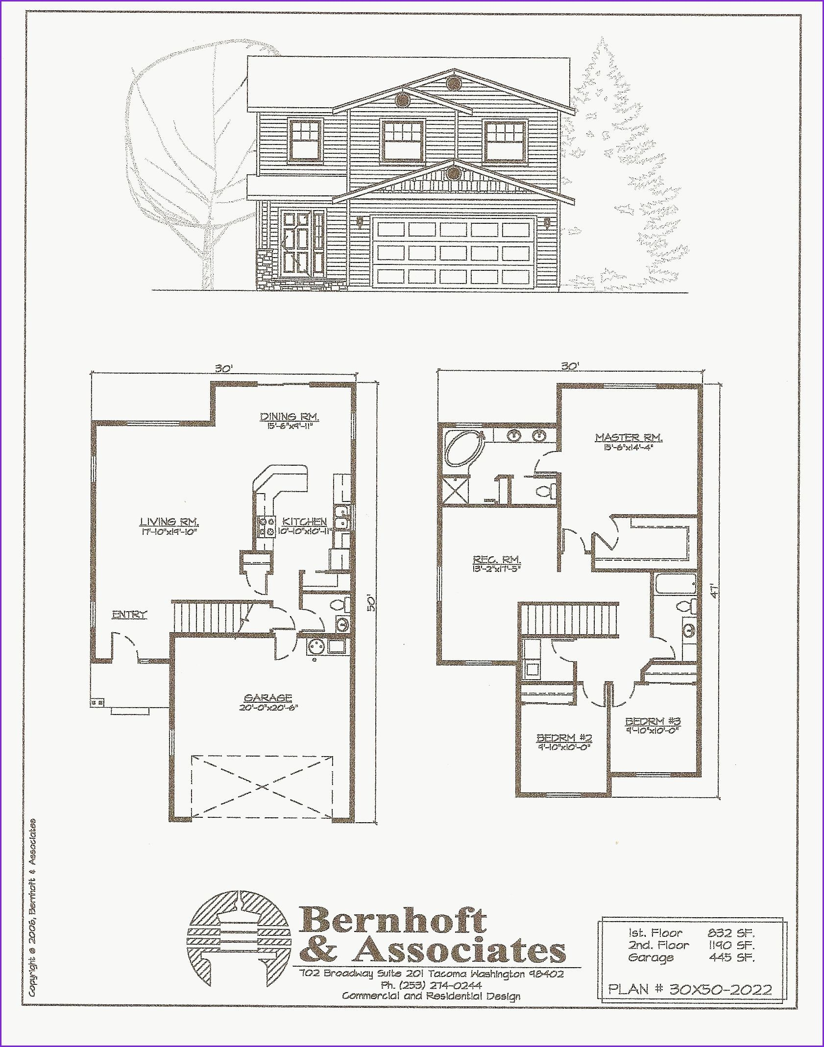 26 X 40 House Plans Fresh 26 X 40 House Plans 24 30 Floor In 2020 Free House Plans Floor Plan Design Floor Plans